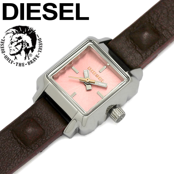 【送料無料】DIESEL ディーゼル 腕時計 ウォッチ うでどけい レディース 女性用 クオーツ 5気圧防水 革ベルト アナログ3針 dz5479