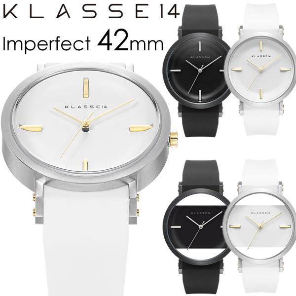 【2年保証】【100%本物保証】【送料無料】KLASSE14 クラス14 クラッセ 36mm 腕時計 レディース ラバーベルト JT imperfect ホワイト ブラック 人気 ブランド ウォッチ 【KLASSE S クラス クラッセ クラセ】