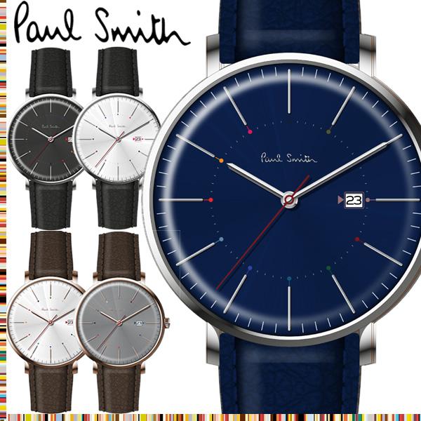 67e0c6eebbdd 楽天市場】【送料無料】ポールスミス Paul Smith 腕時計 メンズ 革ベルト ...