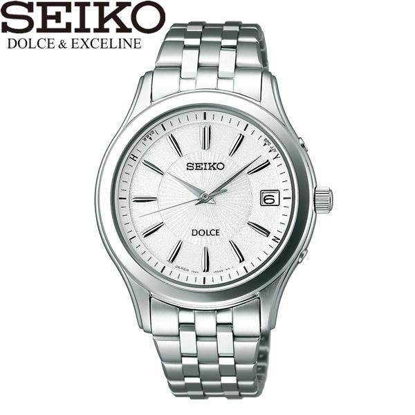 【最大1000円クーポン】 seiko DOLCE セイコー ドルチェ 腕時計 ウォッチ メンズ 男性用 電波ソーラー 10気圧防水 sadz123
