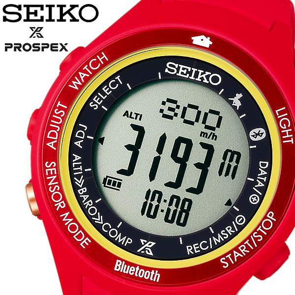 【SEIKO】 セイコー PROSPEX プロスペックス アルピニスト 腕時計 アルプスの少女ハイジ 限定モデル 限定1000本 ソーラー 登山用 10気圧防水 SBEK005【PROSPEX0829b】