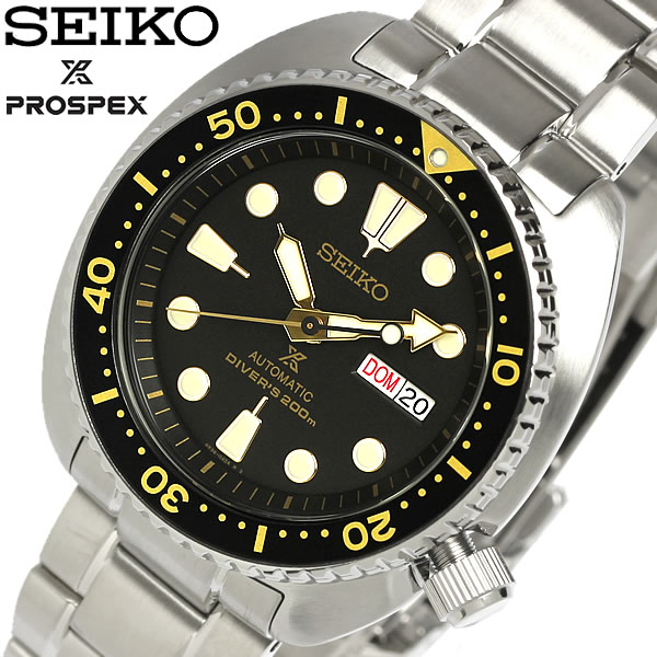 【送料無料】SEIKO セイコー 逆輸入 PROSPEX プロスペックス 腕時計 ウォッチ メンズ 自動巻き 200M防水 ダイバーズウォッチ デイトカレンダー ステンレス srp775k1 ギフト