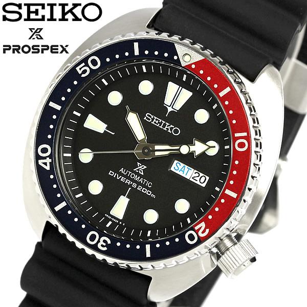 【送料無料】SEIKO セイコー PROSPEX プロスペックス 腕時計 ウォッチ メンズ 自動巻き 200M防水 ダイバーズウォッチ デイトカレンダー ラバー srp779k1