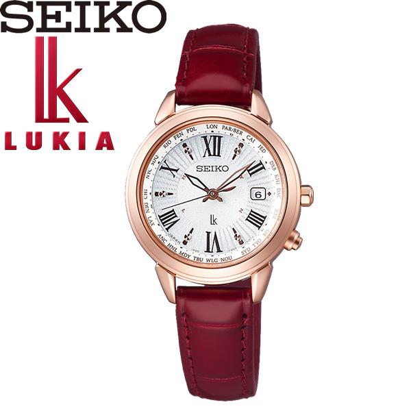 送料無料 seiko 発売モデル LUKIA セイコー ルキア 腕時計 ソーラー レディース 国内正規品 10気圧防水 ssqv022 ウォッチ 女性用