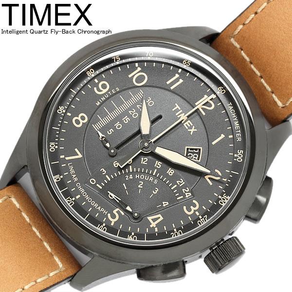 Timex タイメックス Intelligent Quartz インテリジェント クオーツ リニアインディケーター クロノグラフ メンズ 腕時計 クオーツ 10気圧防水 T2P277