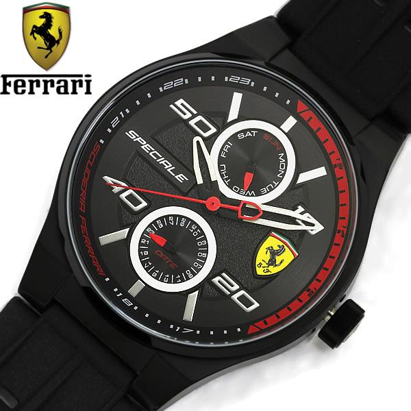 【送料無料】SCUDERIA FERRARI スクーデリア・フェラーリ SPECIALE メンズ クオーツ 腕時計 0830356