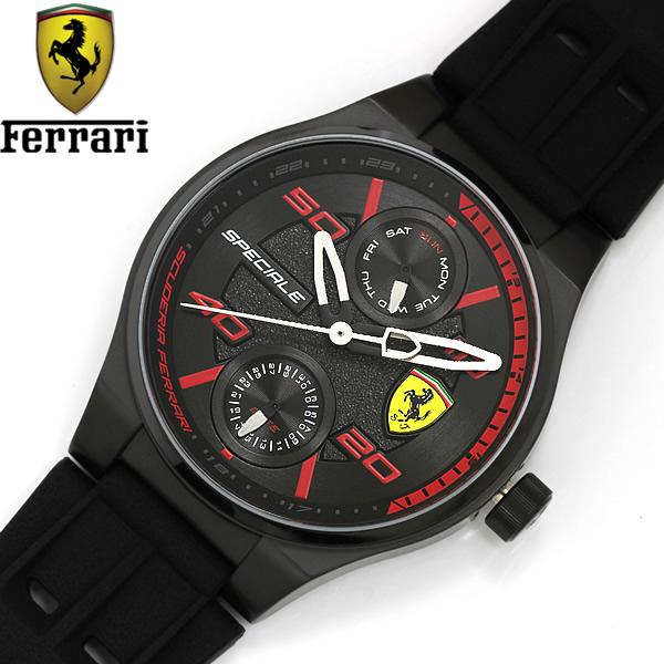 【送料無料】SCUDERIA FERRARI スクーデリア・フェラーリ SPECIALE ユニセックス クオーツ 腕時計 0840011