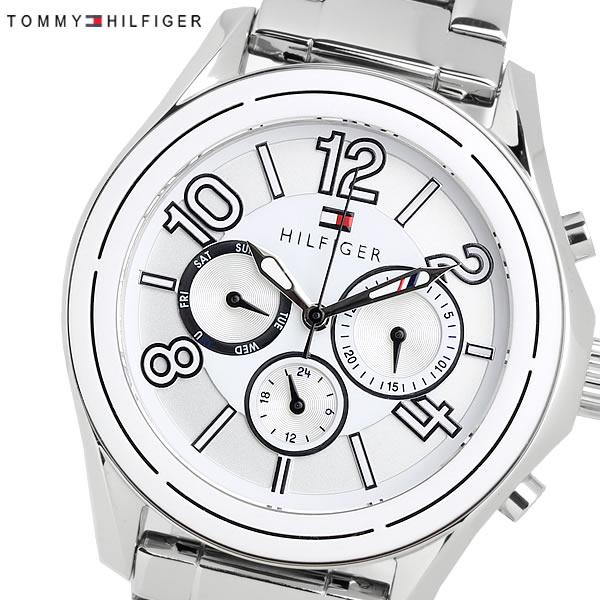 TOMMYHILFIGER トミーヒルフィガー クオーツ レディース 腕時計 3気圧防水 24時間表示 日付曜日 カレンダー ステンレス カジュアル ブランド 1781650