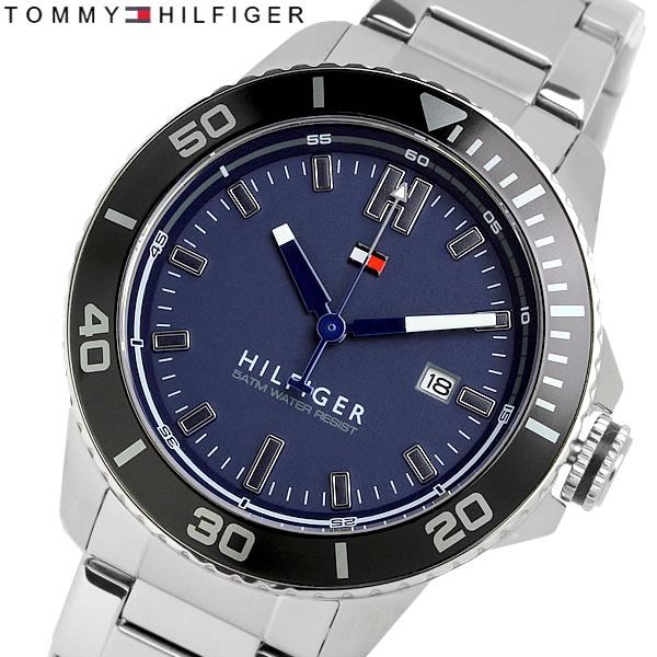 TOMMYHILFIGER トミーヒルフィガー クオーツ メンズ 腕時計 5気圧防水 日付表示 ステンレス ミネラルガラス カジュアル ブランド 3針 1791267