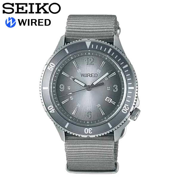 【送料無料】seiko WIRED セイコー ワイアード 腕時計 ウォッチ メンズ 男性用 クオーツ 10気圧防水 ニュースタンダードモデル agaj403