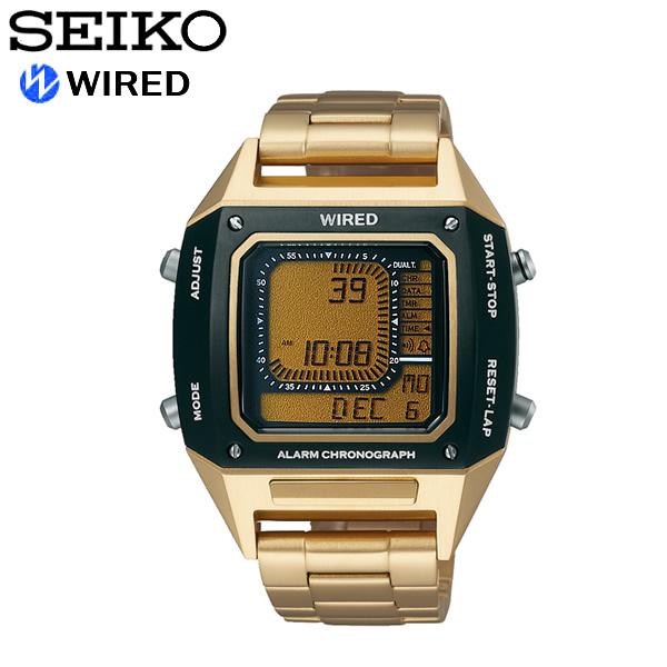 【送料無料】seiko WIRED セイコー ワイアード 腕時計 ウォッチ メンズ 男性用 クオーツ 10気圧防水 ソリディティ agam402