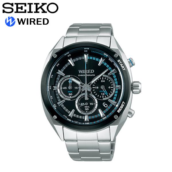 【送料無料】seiko WIRED セイコー ワイアード 腕時計 ウォッチ メンズ 男性用 クオーツ 10気圧防水 ソリディティ agaw443