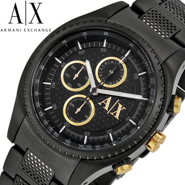 【送料無料】ARMANI EXCHANGE アルマーニ エクスチェンジ 腕時計 ウォッチ メンズ 男性用 クオーツ 5気圧防水 クロノグラフ ax1604