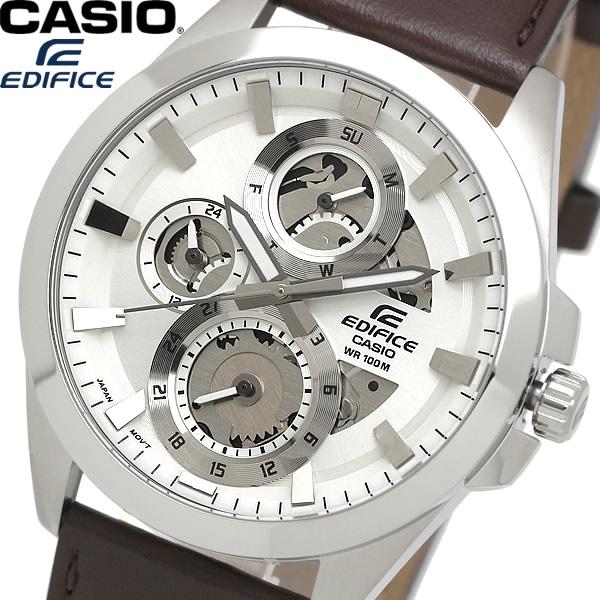 【送料無料】casio EDIFICE カシオ エディフィス 腕時計 ウォッチ メンズ 男性用 クオーツ 10気圧防水 カレンダー esk-300l-7a