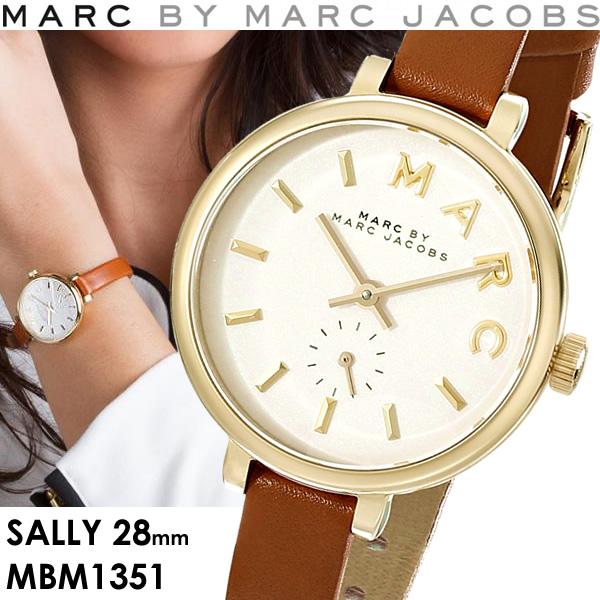 マークバイマークジェイコブス MARC BY MARC JACOBS Sally サリー 腕時計 レディース クオーツ スモールセコンド 5気圧防水 MBM1351