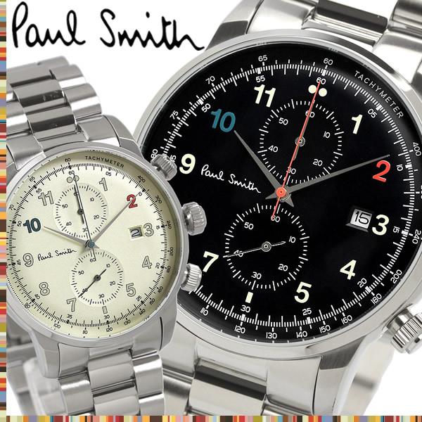 【送料無料】PAUL SMITH ポールスミス メンズ 男性用 腕時計 ウォッチ クオーツ 3気圧防水 スモールセコンド クロノグラフ メンズ P10142 P10143