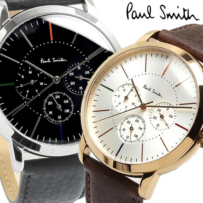 【送料無料】PAUL SMITH ポールスミス メンズ 男性用 腕時計 ウォッチ クオーツ 3気圧防水 カレンダー P10110 P10112