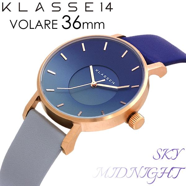 【スーパーSALE】【送料無料】KLASSE14 クラスフォーティーン 腕時計 ウォッチ メンズ レディース クオーツ MARIO NOBILE VOLARE SKY COLLECTION MIDNIGHT ミッドナイト SK17RG003W