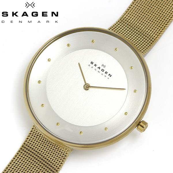 【送料無料】 SKAGEN スカーゲン 腕時計 ウォッチ レディース 女性用 クオーツ 3気圧防水 ステンレスメッシュ GITTE ギッテ SKW2141