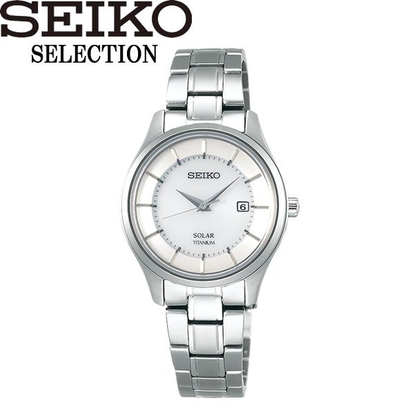 【送料無料】SEIKO SELECTION セイコー セレクション 腕時計 ウォッチ レディース 女性用 ソーラー 10気圧防水 stpx041