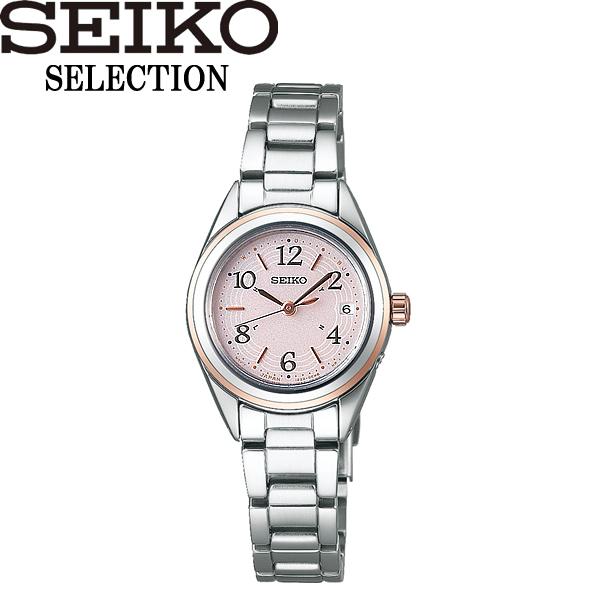 【送料無料】SEIKO SELECTION セイコー セレクション 腕時計 ウォッチ レディース 女性用 電波ソーラー 10気圧防水 swfh076
