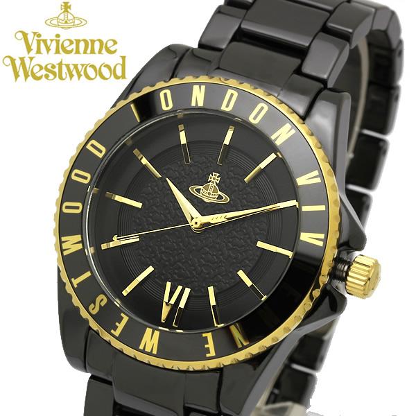 【送料無料】【Vivienne Westwood】 ヴィヴィアンウエストウッド 腕時計 セラミック オールブラック ユニセックス VV048GDBK ブランド メンズ レディース ウォッチ