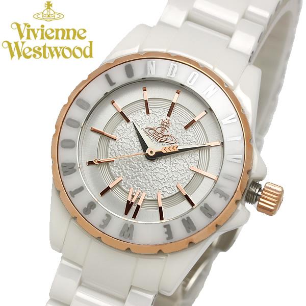 【最大1000円クーポン】 【送料無料】【Vivienne Westwood】 ヴィヴィアンウエストウッド 腕時計 レディース VV088-RSWH ブランド レディース ウォッチ Sloane II スローン2 セラミック