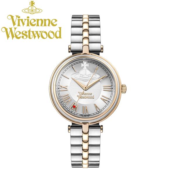 【送料無料】Vivienne Westwood ヴィヴィアンウエストウッド 腕時計 ウォッチ レディース 女性用 クオーツ 日常生活防水 vv168rssl