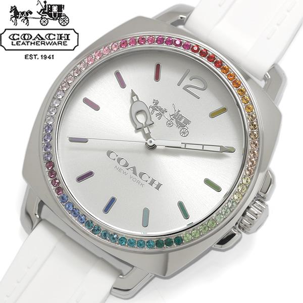 【送料無料】COACH コーチ BOYFRIEND SMALL ボーイフレンドスモール 腕時計 ウォッチ レディース クオーツ 日常生活防水 ラインストーンベゼル 14502528
