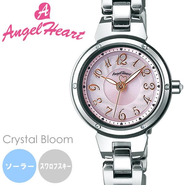 【送料無料】AngelHeart エンジェルハート 腕時計 ウォッチ レディース 女性用 ソーラー 日常生活防水 スワロフスキーエレメント cb22ss