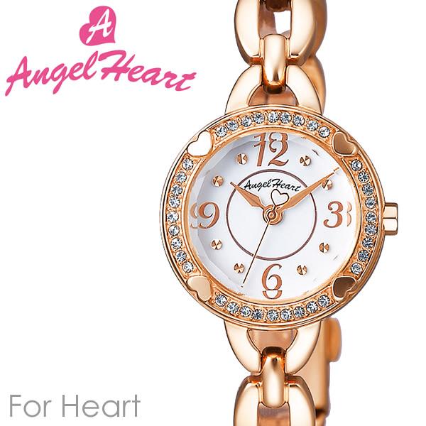 【送料無料】AngelHeart エンジェルハート FOR HEART 腕時計 ウォッチ レディース 女性用 クオーツ 日常生活防水 スワロフスキー fh22pw