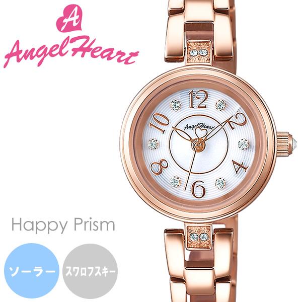 【送料無料】AngelHeart エンジェルハート 腕時計 ウォッチ レディース 女性用 ソーラー 日常生活防水 スワロフスキー hp22pg