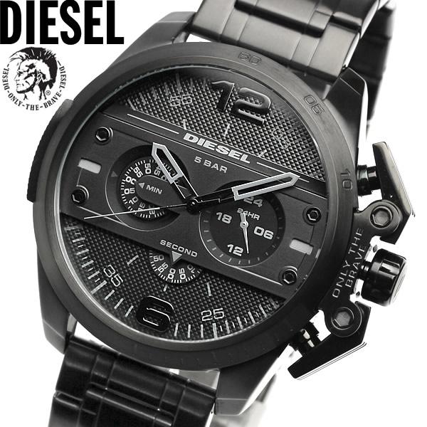 【送料無料】DIESEL ディーゼル 腕時計 ウォッチ メンズ 男性用 クオーツ 5気圧防水 クロノグラフ 24時間表示 dz4362