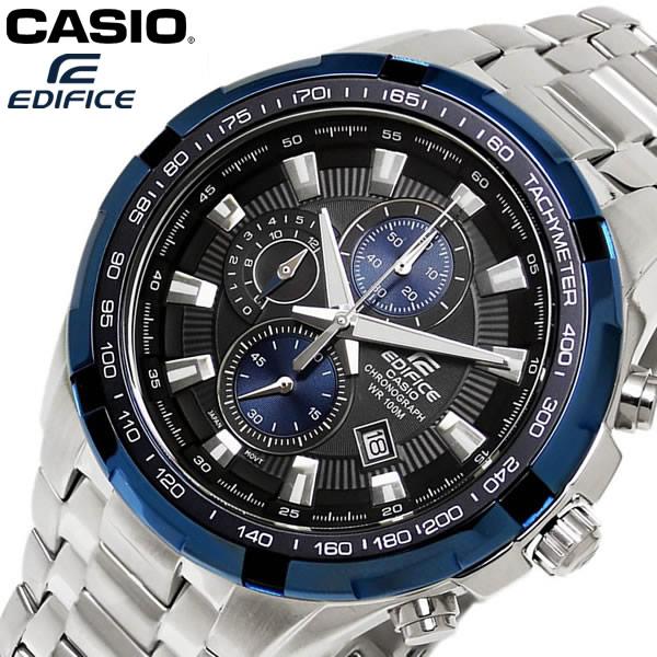 f0bb07cb0d CASIO EDIFICEエディフィス クオーツ 腕時計クロノグラフ 10気圧防水 ef-539d-1a2v