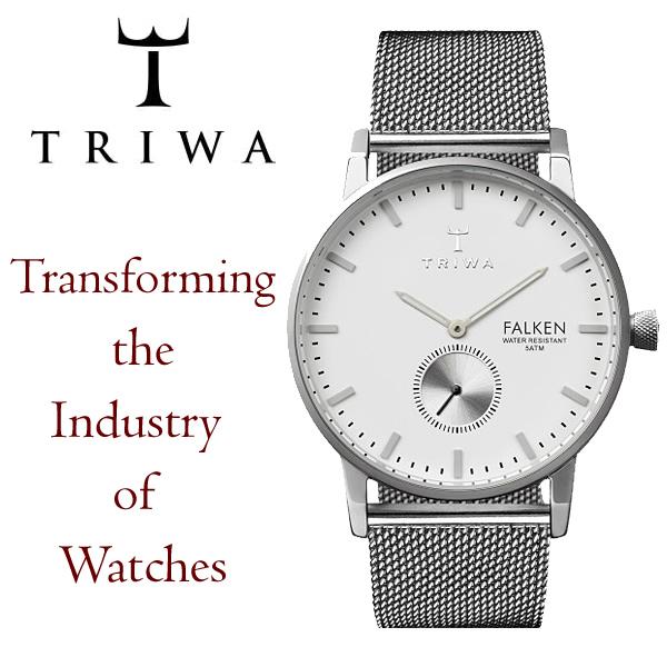 【送料無料】【TRIWA/トリワ】 FALKEN ファルコン 腕時計 38mm メンズ レディース ユニセックス クオーツ ステンレス TARNSJO社 fast103-me021212