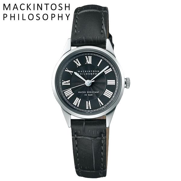 MACKINTOSH PHILOSOPHY マッキントッシュ フィロソフィー クオーツ腕時計 レディース 10気圧防水 ローマンインデックス 牛皮革 クラシカル FCAK992