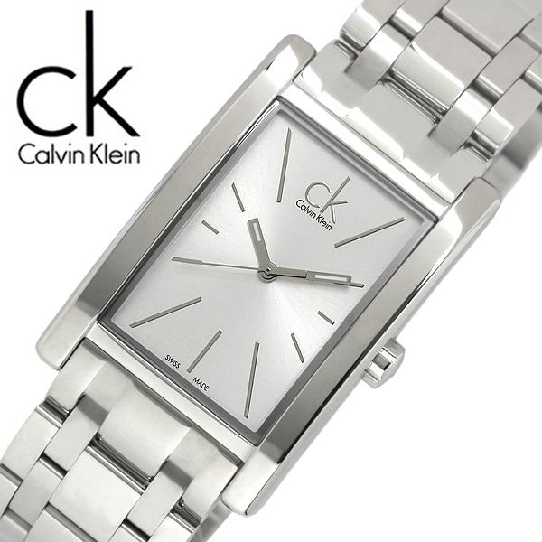 【送料無料】Calvin Klein カルバンクライン REFINE リファイン 腕時計 ウォッチ メンズ 男性用 クオーツ 3気圧防水 スクエア アナログ3針 k4p21146