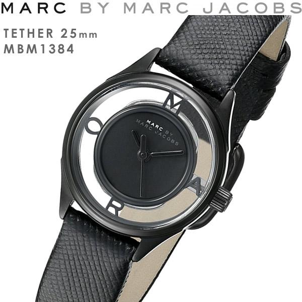 MARC BY MARC JACOBS マークバイマークジェイコブス TETHER ティザー 腕時計 スケルトン レディース クオーツ 5気圧防水 ファッション ウォッチ MBM1384