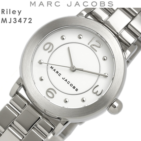 【送料無料】マークジェイコブス MARC JACOBS 腕時計 ウォッチ レディース クオーツ 5気圧防水 アナログ3針 mj3472