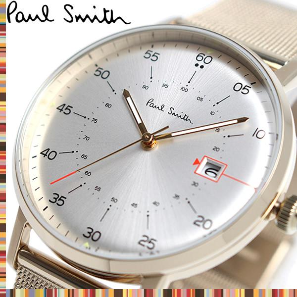 【送料無料】Paul Smith ポールスミス GAUGE ゲージ 腕時計 ウォッチ メンズ クオーツ 日常生活防水 デイトカレンダー p10130