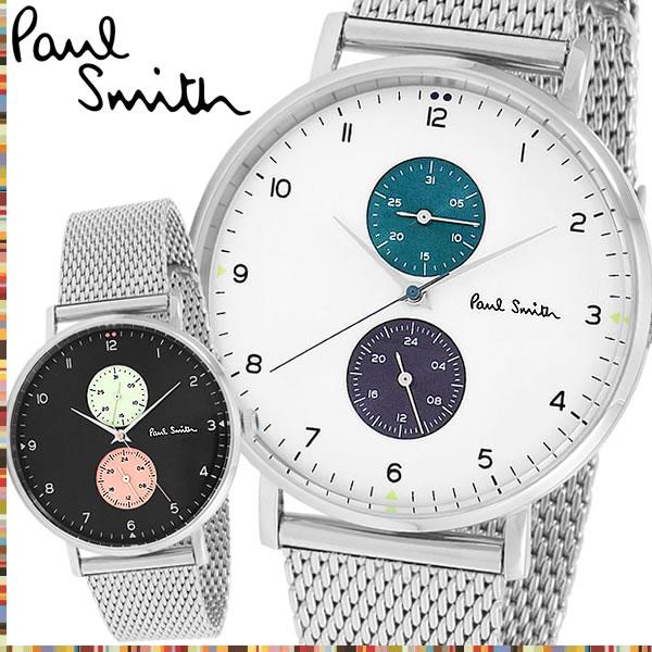 Paul Smith ポールスミス TRACK トラック 腕時計 クオーツ メンズ 5気圧防水 24時間計 日付カレンダー シンプル ステンレス ブランド 人気 PS16