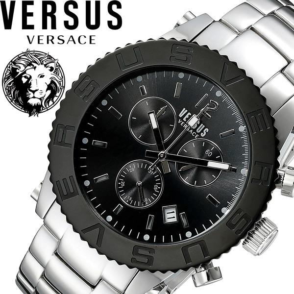 【送料無料】VERSUS VERSACE ヴェルサスヴェルサーチ 腕時計 ウォッチ 日常生活防水 メンズ クロノグラフ soh020015