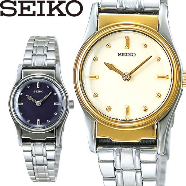 【送料無料】seiko セイコー 盲人時計 腕時計 ウォッチ レディース ゴールド ブラック ステンレス sqwk024 sqwk026