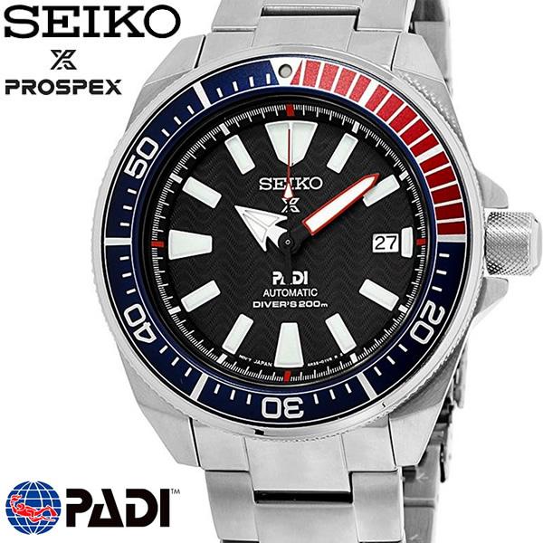 【送料無料】 【SEIKO】 セイコー プロスペックス PROSPEX PADI パディコラボ サムライ 自動巻 メンズ 腕時計 200m防水 ダイバーズウォッチ SRPB99K1 ギフト