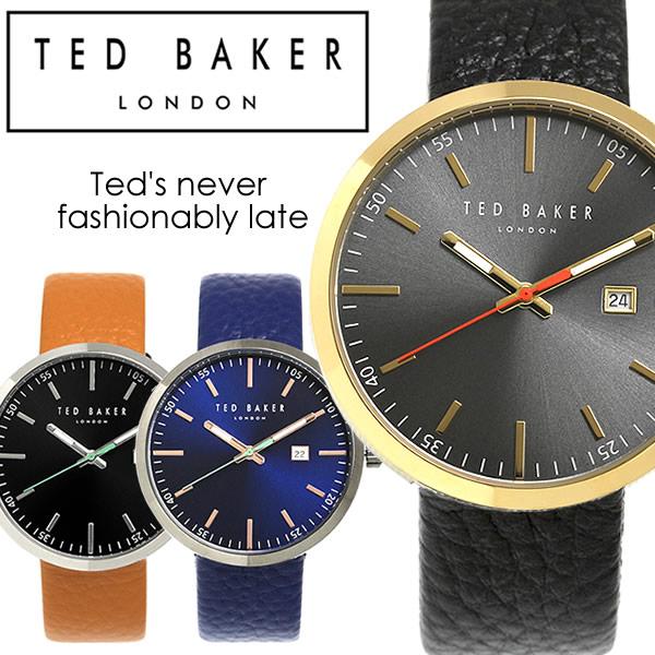 【送料無料】TED BAKER テッドベイカー テッドベーカー 腕時計 ウォッチ メンズ 男性用 クオーツ 5気圧防水 デイトカレンダー tb01 ギフト