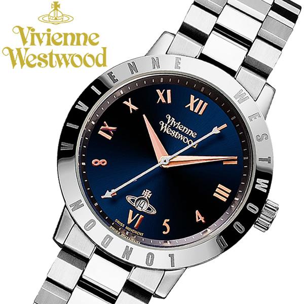 【送料無料】 【Vivienne Westwood】 ヴィヴィアンウエストウッド 腕時計 シルバー ステンレス ブランド レディース ウォッチ VV152NVSL
