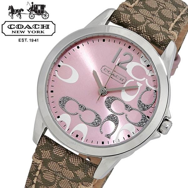 【送料無料】COACH コーチ クラシック シグネチャー Classic Signature 腕時計 ウォッチ レディース 女性用 シンプル 日常生活防水 14501621