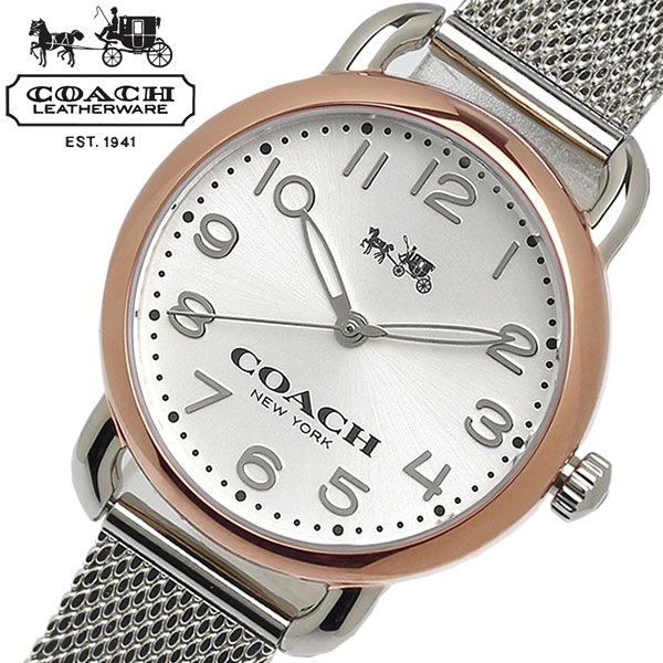 【送料無料】COACH コーチ デランシー DELANCEY 腕時計 ウォッチ レディース 女性 クオーツ 日常生活防水 14502246