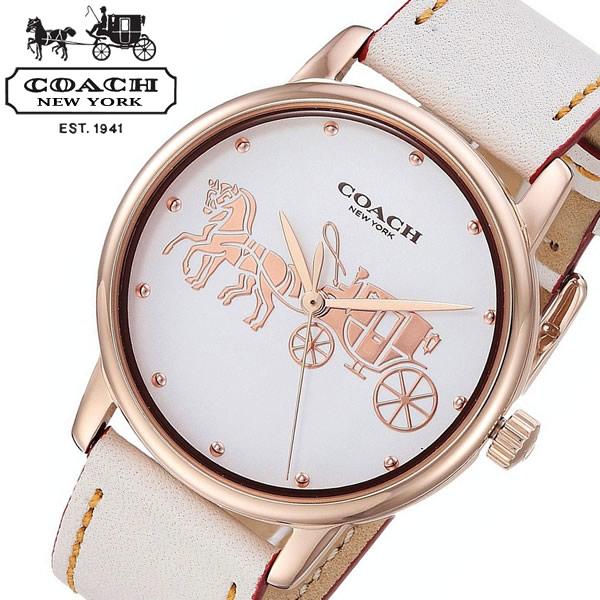 【送料無料】COACH コーチ Grand グランド 腕時計 ウォッチ 日常生活防水 レディース 女性用 14502973
