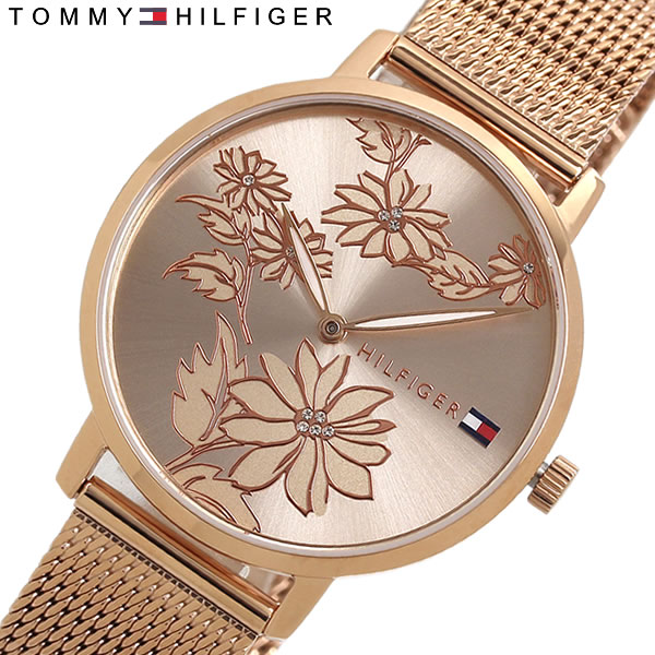 【送料無料】TOMMY HILFIGER トミーヒルフィガー 腕時計 クオーツ レディース 日常生活防水 1781922